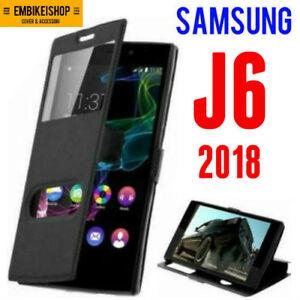 custodia libro samsung j6 2018