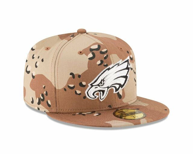 b802097b New Era 59FIFTY Philadelphia Eagles Fitted Hat Camouflage Desert Camo 7 1/8  NFL