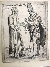 TURCHIA,5 costumi 1589 G. FRANCO Alciato Alciati P.Bertelli.COSTANTINOPOLI, RARI