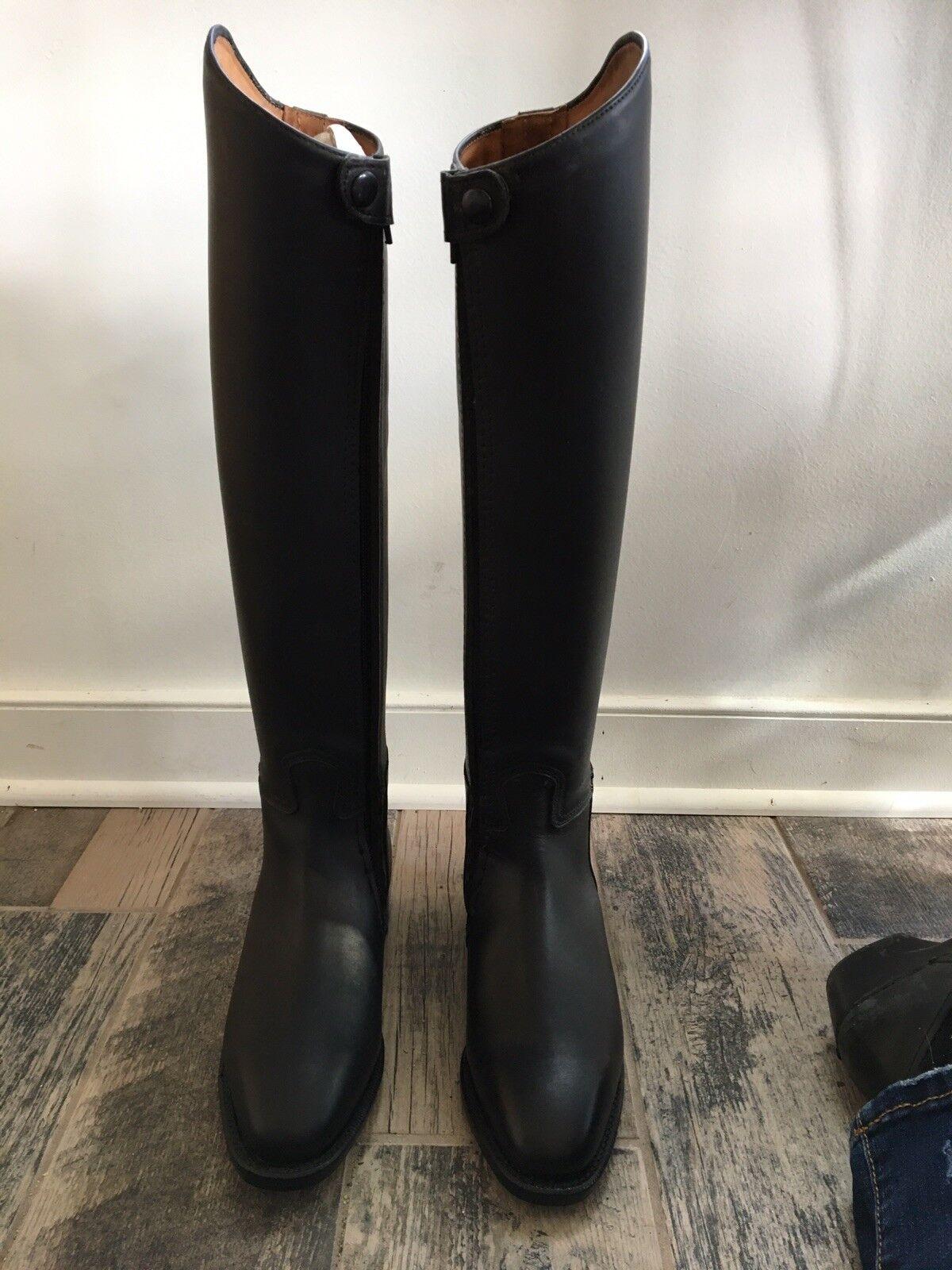 New Womans Dressage stivali W YKK Zippers Weltmeister Cavallo Dimensione US 8 XLW