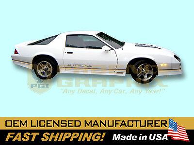 1988 1989 1990 Camaro IROCZ IROC-Z Z28 PREFORMED Decals Stripes Graphics Kits