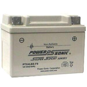 Tv, Video & Audio AnpassungsfäHig Batterie Für Ut4l-bs 12v 3ah 35cca Versiegelt Ptx4lbs-fs Noch Nicht VulgäR Haushaltsbatterien & Strom