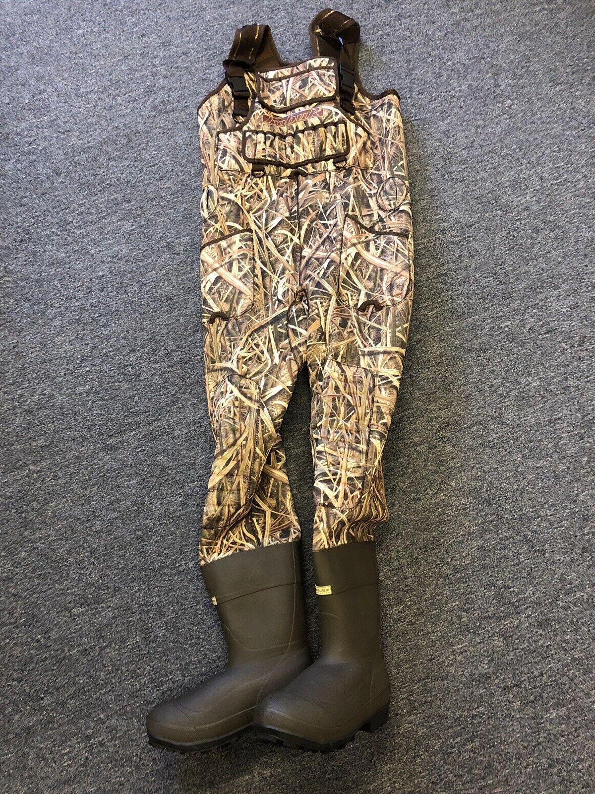 Nuevo 5mm Kobuk Shadow Hierba Hojas camuflaje neopreno Caza Wader tamaño del estirón 9S 1600g