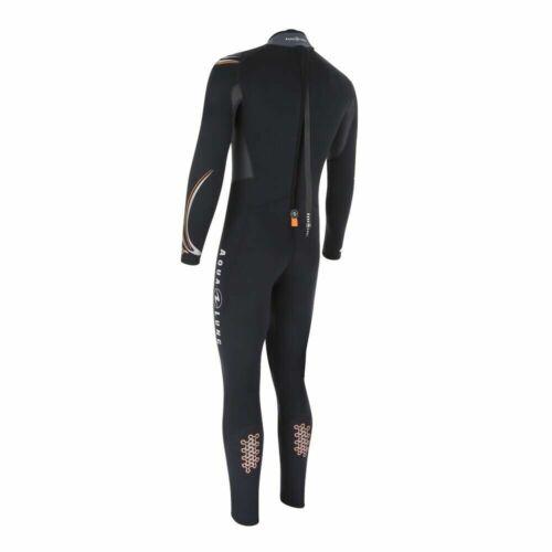 Aqua Lung Dive Jumpsuit Neopren Tauchanzug 5.5 mm ohne Kopfhaube Reisvers hinten