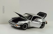 1977 Porsche 911 930  3.3 turbo silber 1:18 Norev 187574