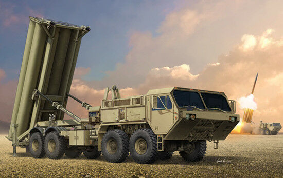 Trumpeter 1 35 Terminal High Altitude Area Defence (THAAD)