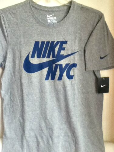 Nyc Shirt Nike Originale 100 Cotton 914290 Grigio T blu 063 HqHBwCRt