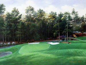 Charles-Beck-034-Augusta-11th-Hole-034-Golf-Print-16-034-x-12