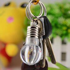 Change Color Party LED Light Mini Bulb KeyRing KeyChain Xmas Light Lamp Gift