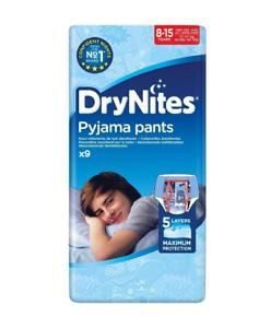 Huggies DryNites 8-15 Jahre 27-57 KG für Jungen Jungs 9x6 = 54 Stück Windeln