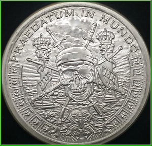 Pirate's Plunder Silver Shield Group 2oz Half Proof 2018 SSG - Hard To Find!