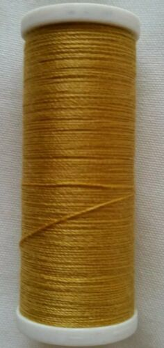 Gold Colour Sewing Cotton Thread For Hand or Machines New High Quality 180M