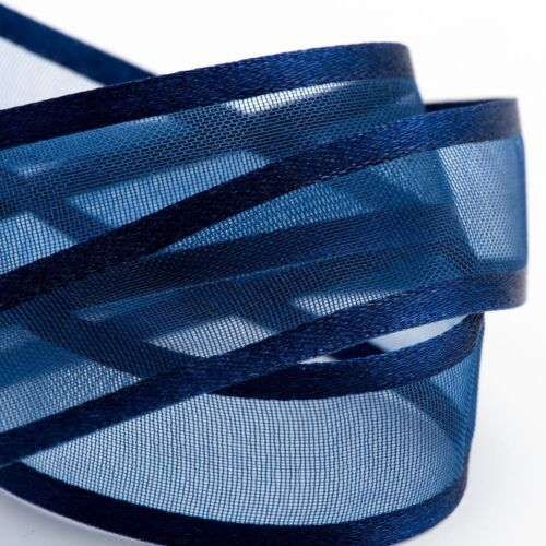 Satin Edge Ribbon io Organza Sheer Chiffon Wedding Crafts