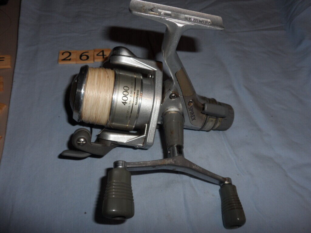 T2640 PR SHIuomoO SPIREX 4000RA Spinning Reel  pesca REEL lavoroS GOOD