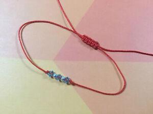 Aquamarine-Bracelet-Crystal-Swarovski-Silver-925-Red-Protection-Handmade