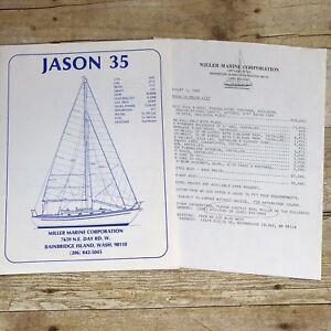 Vintage-Sailboat-Dealer-Sales-Brochure-Jason-35-1983-Price-List-Yacht-Boating