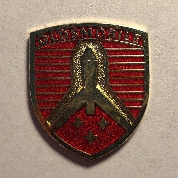 Vintage Oldsmobile Olds Small Badge Emblem Rocket Service Nos Oem