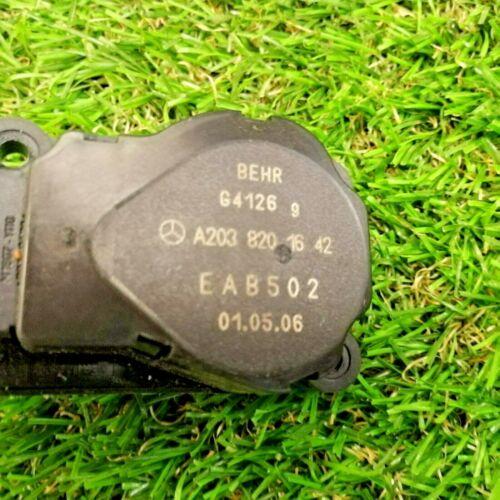 2038201642 HEATER FLAP MOTOR ACTUATOR MERCEDES W203 C CLASS