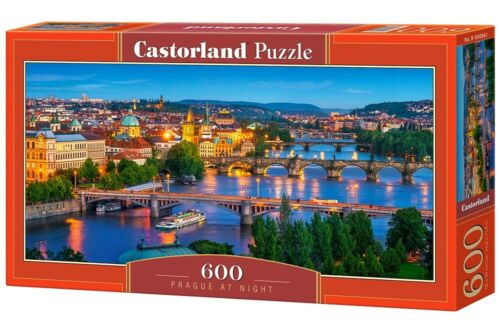 600 TEILE PUZZLE, PRAGUE AT NIGHT, CASTOR 060061