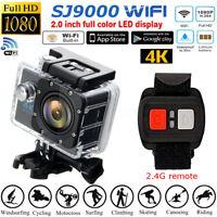 Hot SJ9000 16MP WIFI 4K Action Ultra Sport DV Cam Camera Waterproof Camcorder