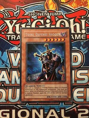 Yu-Gi-Oh SECRET RARE CARD CT1-EN001 TOTAL DEFENSE STR