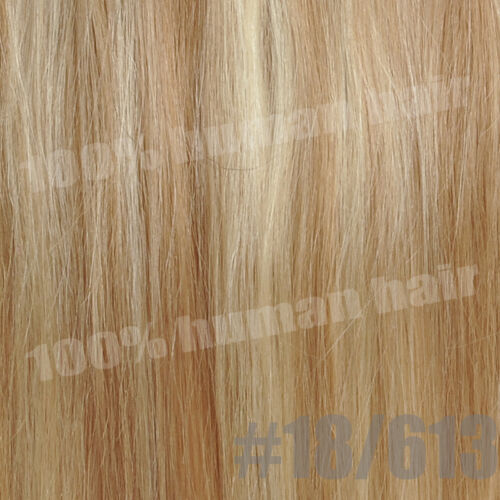 130g Thick Clip In Remy 100/% Human Hair Extensions Full Head Straight One Piece