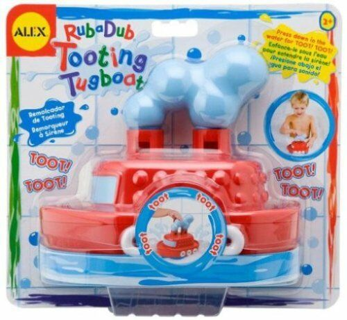 Alex Toys Tooting Tugboats Bathtub Toy Kids Game Ship Shower Child Pool  AL826