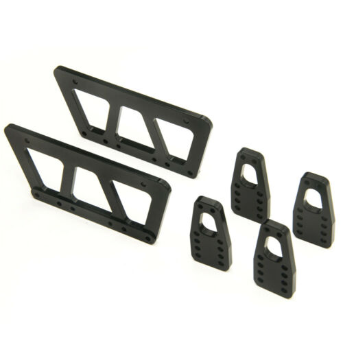 Alloy Refit Chassis Lift Plate Kit for 1//10 RC Axial SCX10 Crawler Upgrade Parts