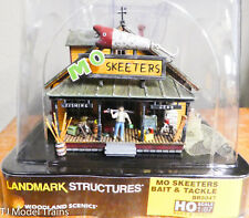 Woodland Scenics HO Scale Trains MO Skeeters Bait Tackle Structure BR5047