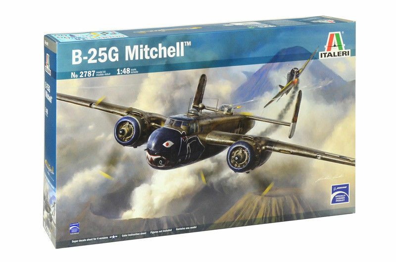 Italeri Boeing B-25G Mitchell 1 48 Kit Model Set Item 2787 Aircraft Tarpaulin