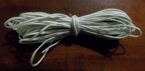 COTTON BRAIDED CORE LESS FLAT WICK STABILO 3 BY HEINZ JANSEN 25m candle wick
