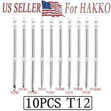 T12 Series Soldering Solder Iron Tips For Hakko 951 950 942 Soldering Station