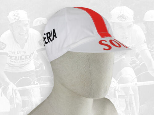 FREE SHIPPING SOLO SUPERIA Retro Vintage style Team Cycling Cotton Cap Eroica