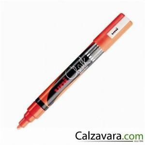 Uni-Ball-Posca-Marcatore-a-Gesso-Liquido-Fluo-mm-1-8-2-5-ARANCIO