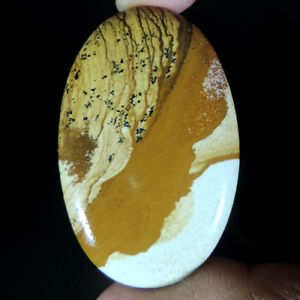 BEST-OFFER-NATURAL-PICTURE-JASPER-FREE-SHIPING-OVAL-CABOCHON-LOOSE-GEMSTONES