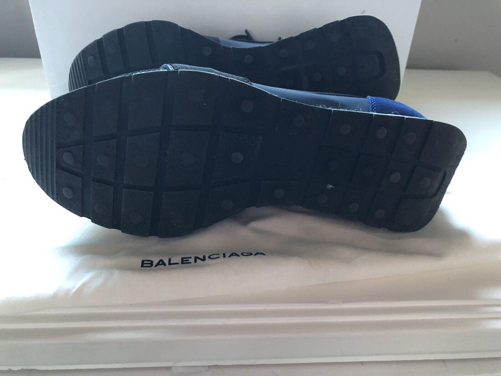 BALENCIAGA Race Runner Runner Runner Navy Blau Trainers, UK 4 US 7 EU 37 e163cd