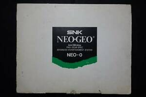 NEOGEO-AES-SYSTEM-WHITE-RENTAL-BOX-NEO-0-JAPAN-Very-Good-Condition