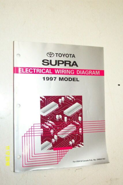 1997 Toyota Supra Wiring Diagrams Electrical Service Manual