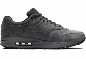 Details zu ⚫ Genuine Nike Air Max 1 Premium ® ( Men Sizes UK: 7 11 ) Anthracite Black