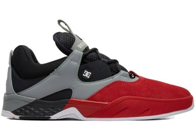 DC Shoes Mens Kalis S Skate Shoes Navy//White 11.5