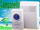 Campanello senza fili per porta,casa,portone,wireless,digitale,universale,pile