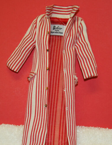 Vintage Barbie Reproduction 968 Roman Holiday 1959 Red amp White Coat NEVER WORN