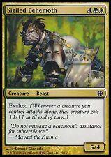Sigiled Behemoth X4 EX/NM Alara Reborn MTG Magic Cards Gold Common