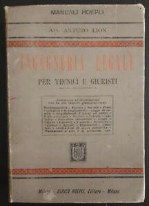 A-Lion-Manuale-di-Ingegneria-Legale-per-tecnici-e-giuristi-Hoepli-Milano-1899