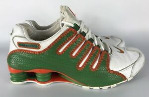 outlet store 8abcc 35ae5 Image is loading 2006-RARE-Nike-Shox-315798-381-ALMENDARES-Green-