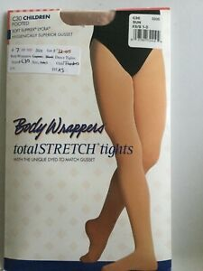 031ddbe5b3c68 Children Girls Footed Body Wrappers Dance Tights #C30 Sun Size XS/S ...