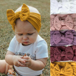 Newborn-Kids-Girls-Baby-Cute-Headband-Hair-Band-Bow-Accessories-Headwears-AU