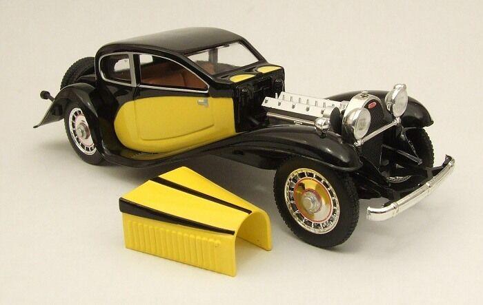 RIO 4262 - BUGATTI T50 1933 yellow  ET black -  1 43
