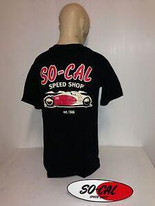 So-Cal-t-shirt-belly-tank-BLACK-sz-XXL-rear-print-hot-rod-32-ford-chev