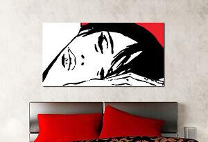 Quadro Moderno Stampa Su Tela Cotone Cm 120x60 Valentina Sogno